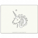 Artistic Flair - Cake Stencil - Unicorn with Love